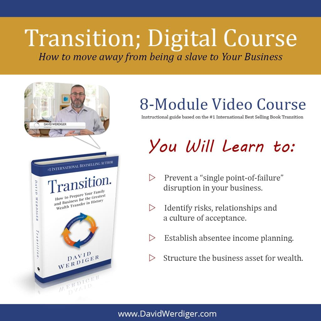 Transition Digital Training with David Werdiger