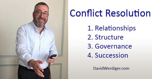 Conflict Resolution in Business with David Werdiger