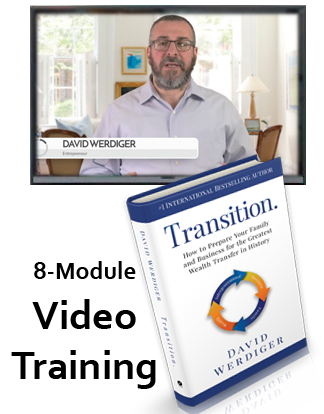 David Werdiger delivers Transition;Video Training